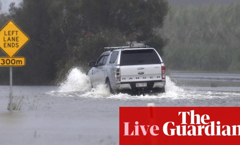Australia news live: NSW and Qld face another day of wild weather; Tony Mokbel drug conviction quashed