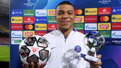 Photo of Kylian Mbappe hat-trick for PSG upstages Lionel Messi on his own turf