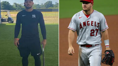 Photo of Yankees' Jasson Dominguez 'more advanced' than Mike Trout at same age
