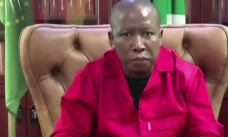 Malema says SA should collaborate with Russia, Cuba on vaccine