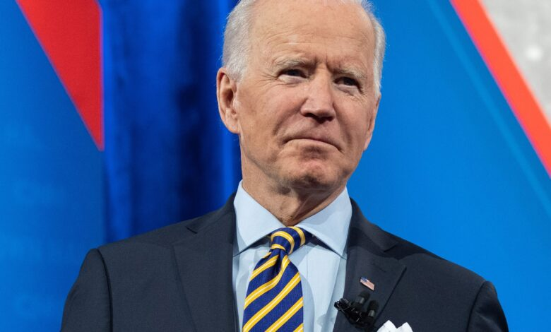 Biden dismisses a Democratic plan to wipe out $50,000 in federal student loan debt