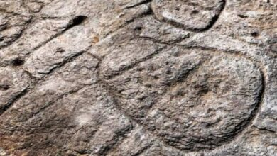 Photo of 4,000-Year-Old Carved Stone Slab is Europe's Oldest Known Map
