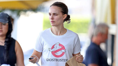 Photo of Natalie Portman, 39, Rocks Daisy Dukes While Running Errands In Australia — See Pic