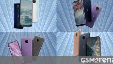 Photo of Nokia G20 and G10 unveiled with large batteries, Android Go-powered Nokia C20 and C10 join in